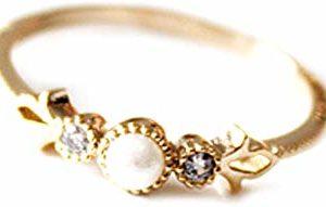 anillos con fleur de lis